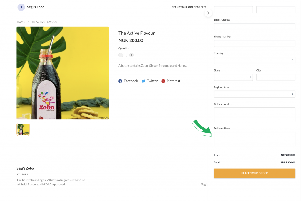 Flutterwave Store Update: How Delivery Note is going to give your Customers more options and grow your Business