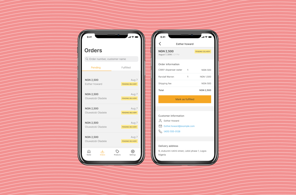 Flutterwave Mobile as your mobile Online Store