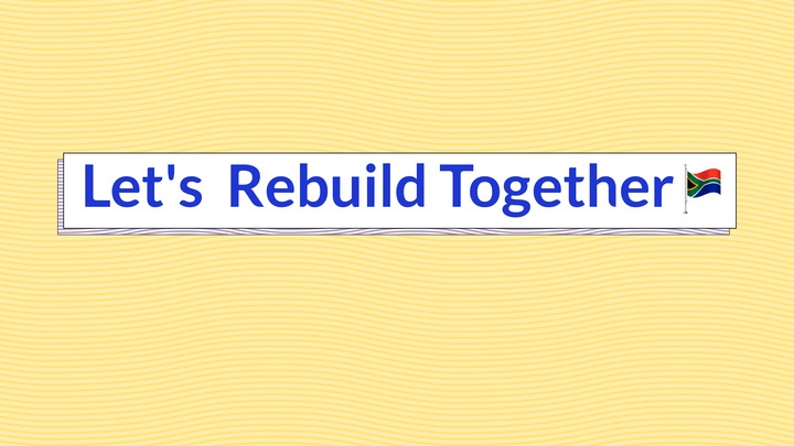 Let's Rebuild Together